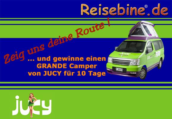 Gewinne einen Jucy-Camper für 2 Personen